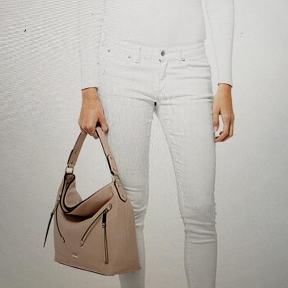 Michael Kors Handbags - Mk Evie Pebbled Leather Bag
